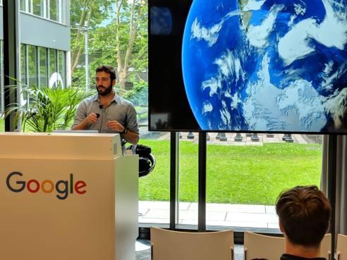 GoogleTalk (Zurich, 08/06/2018).