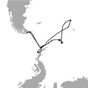 PEGASO Cruise. Southern Ocean: Weddell Sea, South Georgia Islands, Orkney Islands and Gerlache Strait.  January - February, 2015.