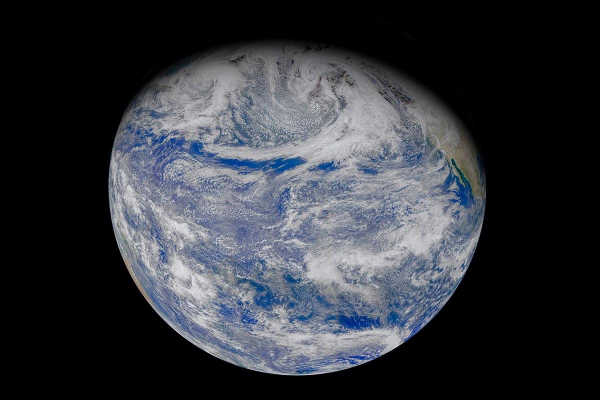 Pacific Ocean. Créditos NASA OCEAN.